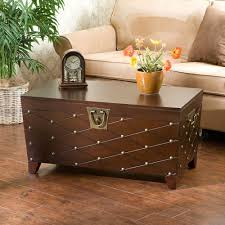 Home Decorators Uk Vintage Steamer Trunk Banded Travel Chest Coffee Table Blanket Box
