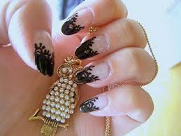 acrylic nail ideas in different kinds nail laque and design ideas
