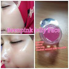 cara membuat wajah menjadi glowing secara alami been pink jelly face kulit wajah glowing bebas flek
