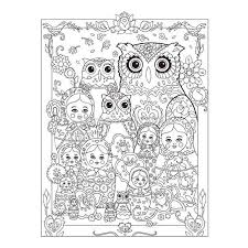 aliexpress com buy creative haven coloring book owls coloring