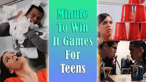 25 minute to win it games for teens u2013 ton of fun guaranteed