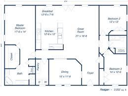 100 steel building floor plans living quarters 40x60 metal