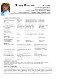 Acting Resume Sample Beginner Resume Example 32 Actor Resume Templates Word 2016 Actor Resume