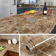 36 inch top kitchen cabinets livelynine 197 x 36 inch contact paper for countertops peel and stick wallpaper marble kitchen countertop table furniture desk cover self adhesive