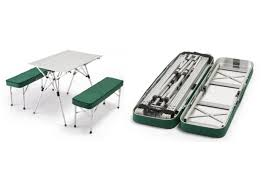 Folding Picnic Table Plans Pdf by Portable Picnic Table And Chairs Outdoorlivingdecor