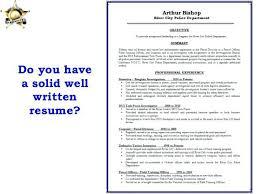 well written resume examples lukex co