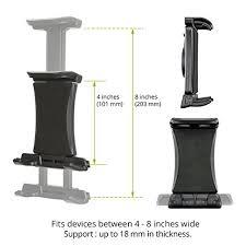 support tablette voiture entre 2 sieges 85 ikross support appuie tête de voiture universel pour tablette