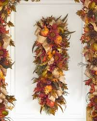 deals on 40 balsam hill fall harvest artificial swag