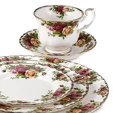 royal albert country roses dinnerware collection bed bath