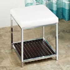 Bathroom Stools With Storage Vanity Chair With Storage Safavieh Toulon Tufted Grey Vanity