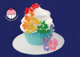 rainbow butterfly cupcake how to decorate your rainbow