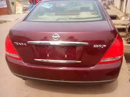 teana nissan price sold very cheap tokunbo 2004 nissan teana 650k autos nigeria