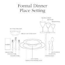 how to set a formal dinner table setting a formal dining table formal dinner place setting diagram