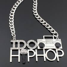 hip hop necklace images I do hip hop necklace in silver charmed to perfection jpg
