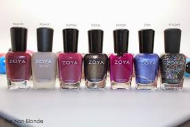 7 favorite zoya nail polish colors from recent months the non blonde
