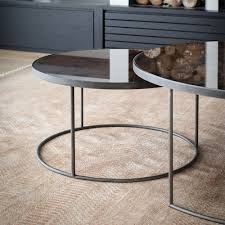 mirrored end table set round coffee table sets buethe org