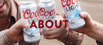 American Light Beer Coors Light American Beer The Silver Bullet