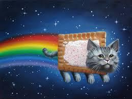imagenes de los memes que se mueven gato volador sobre lienzo al oreo xd memeart zazil