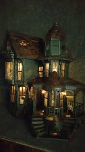 lemax halloween houses 72 best halloween houses images on pinterest dollhouses