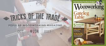 Good Woodworking Magazine Subscription by Tricks Of The Trade Scraper Holder From Scraps Popular
