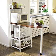 kitchen island shelves magshion kitchen island metal dining baker cabinet