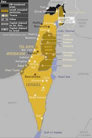 political map of israel map israel