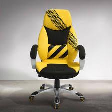 chaise bureau jaune chaise de bureau jaune pour le bureau ebay