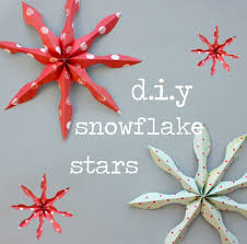concertina or snowflake stars paper crafts pinterest
