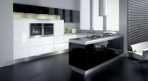 Black Kitchen Chandelier Kitchen Transitional Black And White Kitchen With Attractive