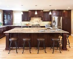 big kitchens with islands big kitchen islands for brown kitchens photos majestichondasouth