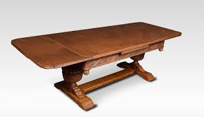 what is a draw leaf table impressive oak draw leaf table of generous proportions c 1890