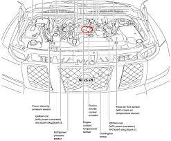 nissan pathfinder knock sensor location 2004 nissan air intake engine coolant temperature sensor
