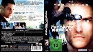 minority report blu ray covers 2002 r2 german