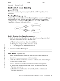 100 physical science worksheet chemical bonding worksheet