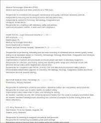 resume medical technologist microbiology medical technologist sample resume resume sample resume for entry