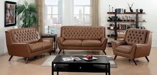 Leather Tufted Sofa by Furniture Home Edward Wormley Dunbar Eight Foot Tufted Leather