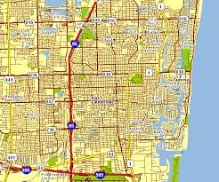map of ft lauderdale city map of fort lauderdale