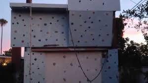 building a climbing wall construyendo muro de escalar youtube