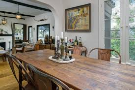 Spanish Style Dining Room Furniture by Rustic Spanish Style In Mount Washington Asks 798k Curbed La