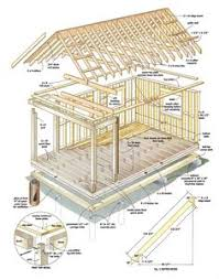 free wood cabin plans tree house pinterest wood cabins