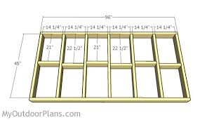 how to frame a floor duck blind plans myoutdoorplans free woodworking plans and