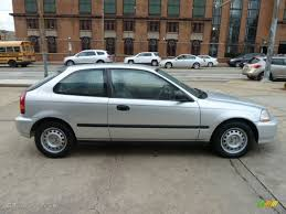 1996 honda civic hatchback cx vogue silver metallic 1997 honda civic cx hatchback exterior photo