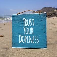 trust your dopeness wood sign u2013 hollywood u0026 twine