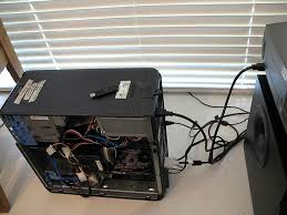 Case For Home Theater Pc by 4 Of 5 Old Pc To Home Theater Pc Htpc Projector Cpu Youtube