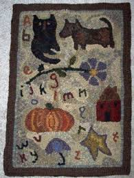 5230 best hooked rugs images on pinterest rug hooking primitive