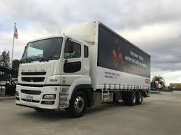 2017 fuso fv54 400hp amt air suspension whitehorse fuso