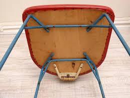 Esszimmerst Le Preis Italienische Stühle Aus Eisen U0026 Rattan 1950er 2er Set Bei Pamono