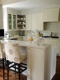 gorgeous ivory kitchen cabinets marble tiles backsplash