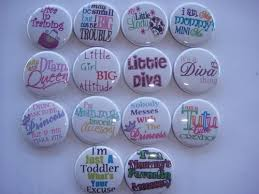 hair bow center 14 girly sayings flatbacks or pins hair bow center party