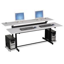 Split Level Split Level Computer Training Table Top By Balt Blt83080